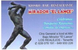Bar – Restaurante Mirador